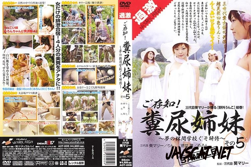 AOT-005 Sisters manure play with shit on outdoor (2018 | 672 MB | SD)