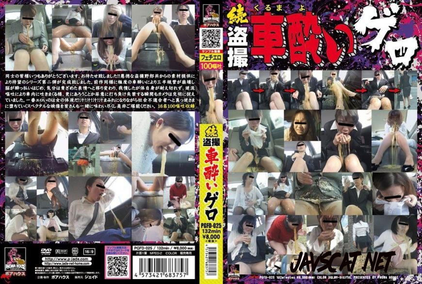 PGFD-025 Japanese girls vomiting in car vol2 (2018 | 3.80 GB | FullHD)