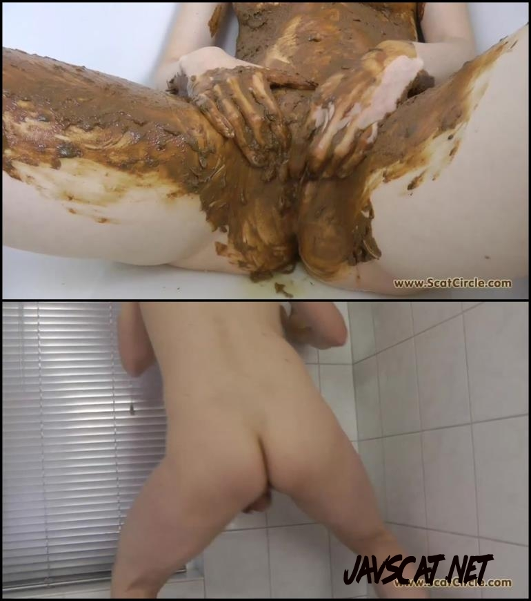 [Special #145] Perversion play with shit in bathroom (2018 | 485 MB | FullHD)