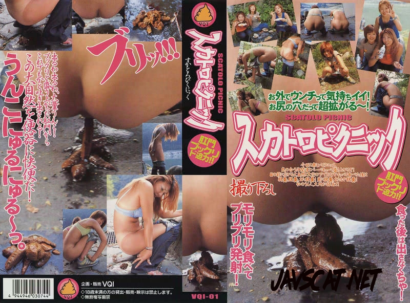 VQI-01 Outdoor Excretion スカトロピクニック 01 北都 Scat Picnic (2018 | 197 MB | SD)