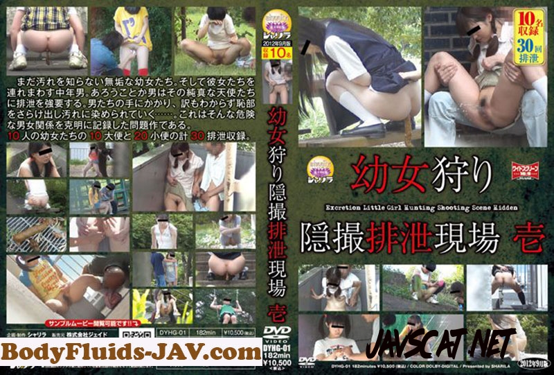 DYHG-01 Pissing 幼女狩り 隠撮排泄現場 1 シャリラ Outdoor Excretion (2019 | 3.25 GB | HD)