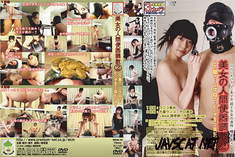WCM–16 Wild Torture Of Public Toilet Shit 人間のトイレ2調教 (2019 | 428 MB | SD)