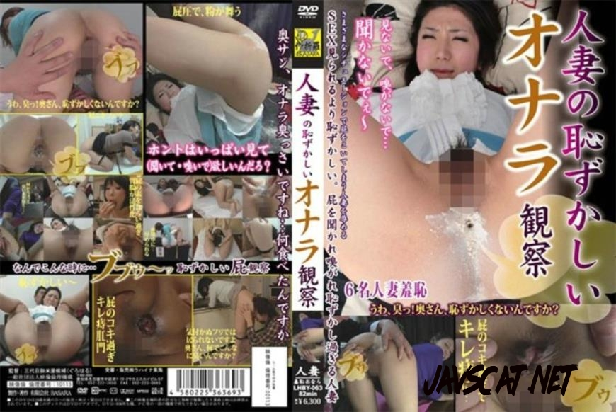 LHBY-063 Married Observation Embarrassing Fart 結婚観測恥ずかしいおなら (2020 | 580 MB | SD)